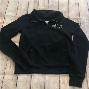 Abercrombie & Fitch Zip Up Sweater